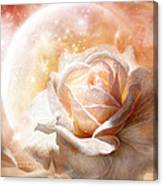 Rose - Colors Of The Moon Canvas Print