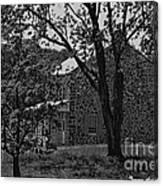Rose Farm House-gettysburg Canvas Print