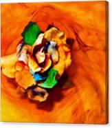Rose In A Dream Canvas Print