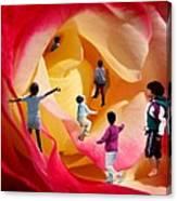 Rose Labyrinth Canvas Print