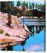 Rose Lake Sequel 2 Canvas Print