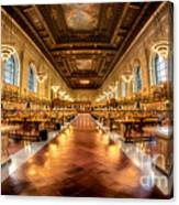 Rose Main Reading Room Canvas Print
