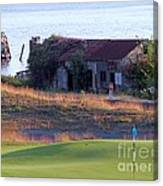Rose Shack At 17 - Chambers Bay Golf Course Canvas Print