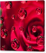 Rose Syrup Abstract 1 A Canvas Print