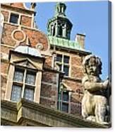 Rosenborg Castle In Copenhagen - Denmark Canvas Print