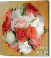 Roses Antiqua Canvas Print