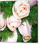 Roses Bouquet Canvas Print