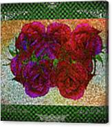 Roses- Featured In Beautiful Roses And Comfortable Art Groups Canvas Print