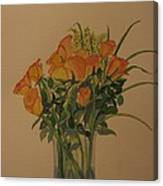 Roses For My Sweetie Canvas Print