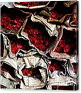 Roses For Sale Canvas Print