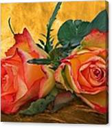 Love For Two Canvas Print