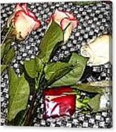 Roses From Rosa... Canvas Print