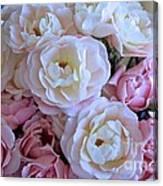 Roses On The Veranda Canvas Print