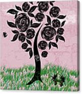 Rosey Posey Canvas Print