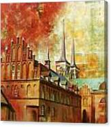 Roskilde Cathedral Canvas Print