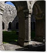 Ross Errilly Franciscan Friary 1351 Canvas Print