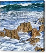Ross Witham Beach Stuart Florida Canvas Print