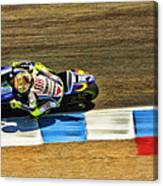 Rossi From Above Canvas Print
