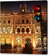 Rossio Train Station Canvas Print