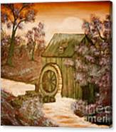 Ross's Watermill Canvas Print