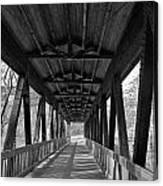 Roswell Bridge 1 Canvas Print
