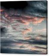 Rosy Clouds Canvas Print