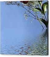 Rosy Reflection - Right Side Canvas Print
