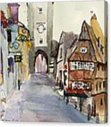 Rothenburg Canvas Print