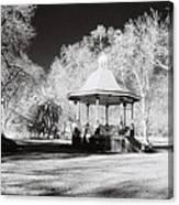 Rotunda Benalla Botanical Gardens Canvas Print