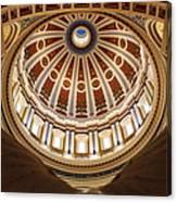 Rotunda Dome On Wings Canvas Print