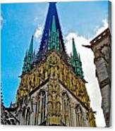 Rouen Church Steeple Canvas Print