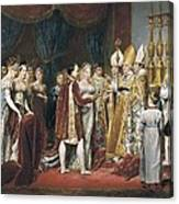 Rouget, Georges 1784-1869. The Marriage Canvas Print
