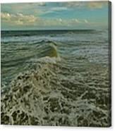 Rough Surf Hatteras 2 10/17 Canvas Print