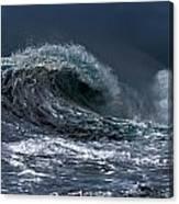 Rough Wave Canvas Print