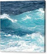 Rough Waves 1 Offshore Canvas Print