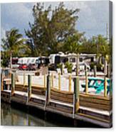 Roughing It In The Keys Canvas Print