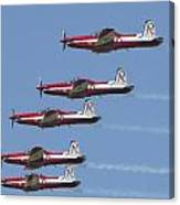 Roulettes In Tight Formation Canvas Print