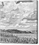 Round Lake Canvas Print