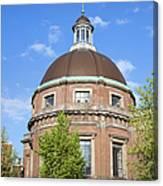 Round Lutheran Church In Amsterdam Canvas Print