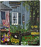 Round Swamp Farm By Alison Tave Canvas Print