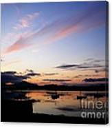 Roundstone Harbour Canvas Print