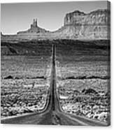 Route 163 Canvas Print