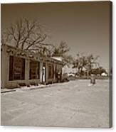 Route 66 - Bent Door Cafe Canvas Print