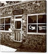 Route 66 Cafe 8 Canvas Print