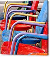 Route 66 Chairs Canvas Print