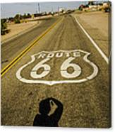 Route 66 Daggett California Canvas Print