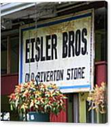 Route 66 - Eisler Brothers Old Riverton Store Canvas Print