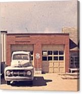Route 66 Garage Canvas Print