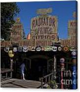 Route 66 Gift Shop Disneyland Canvas Print