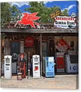 Route 66 - Hackberry General Store Canvas Print